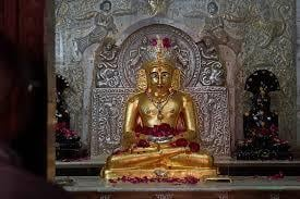 Gold Plated Jain Temple