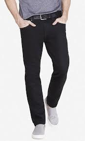 Black Slim Fit Mens Jeans in  New Cloth Market