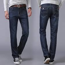 Casual Blue Mens Jeans