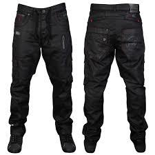 Designer Black Denim Mens Jeans