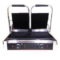 Double Electric Contact Grill Double Grilled Sandwich