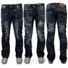 Fancy Denim Mens Fit Jeans