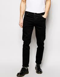 Fancy Look Black Denim Mens Jeans in  New Cloth Market