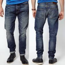 Narrow Bottom Mens Jeans