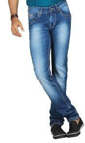 Shaded Blue Mens Jeans