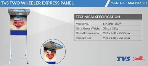 Tvs Two Wheeler Express Panel Board