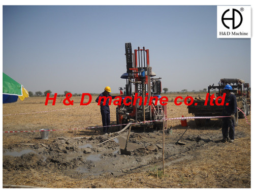 Heavy Duty Sonic Drilling Rig (100 Meters)