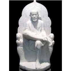 Saibaba Marble Statue
