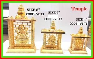 Gold Plated Temples