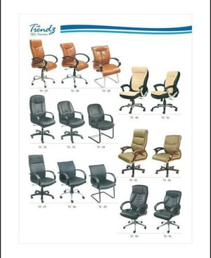 Stylish High Back And Low Back Boss Chairs
