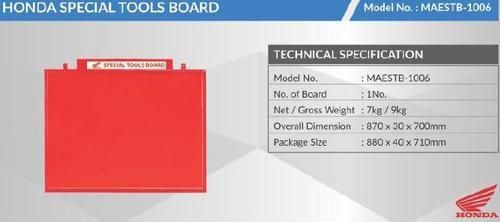 Honda Special Tools Board