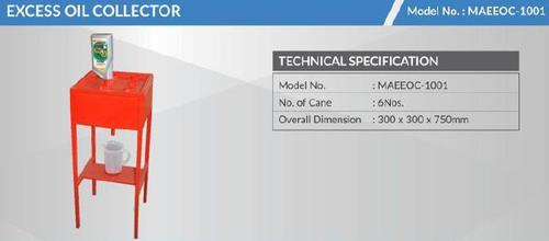 Excess Oil Collector (Model No. Maeeoc 1001)