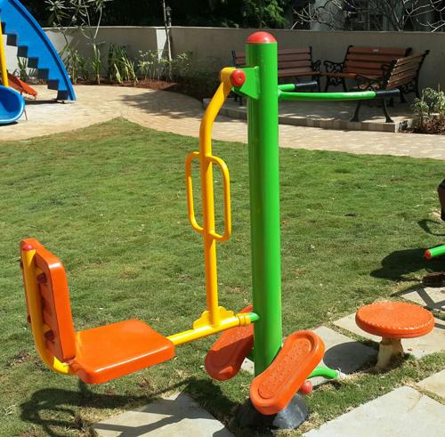 Outdoor Playground Rocker