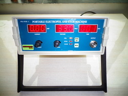 Portable Electropol and Etch Machine