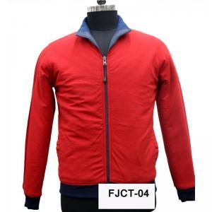 Men's Red Jacket in  Focal Point Phase - Iv
