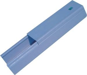 Grey Unslotted PVC Wiring Channels
