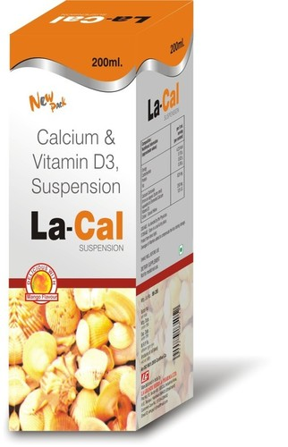 Lacal Suspension (Calcium + D3 Suspension)