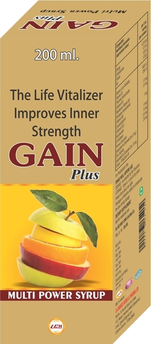 LG Gain Plus Multipower Syrup