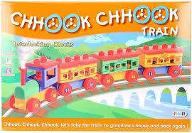 Chook Chokk Train Blocks