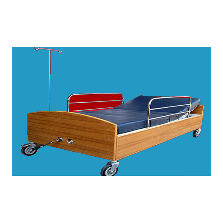 Wooden Hospital Bed