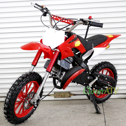 2 Stroke 49cc Mini Kids Pit Bike