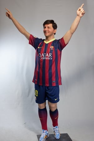 Football Star Silicone Wax Figures (Messi)