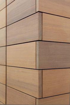 Exterior Wooden Wall Panels in  Chanakya Place