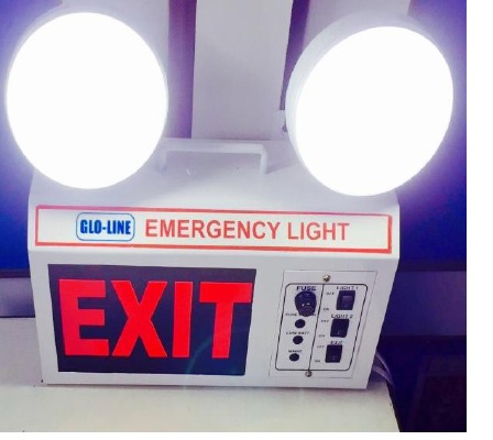 Industrial LED Emergency Light With Exit 1