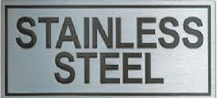 Stainless Steel Engraved Signage