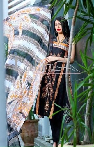 Lamoderno Lawn Embroidery Ladies Pakistani Suits