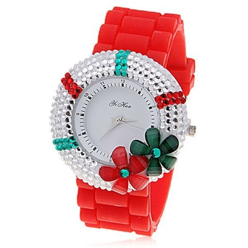 ladies fancy watches swatch watch me dp silicone dial white strap silver