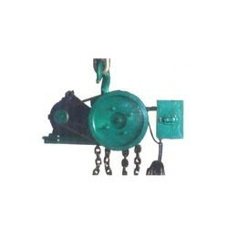 Hassle Free Operation Motorized Chain Pulley Block