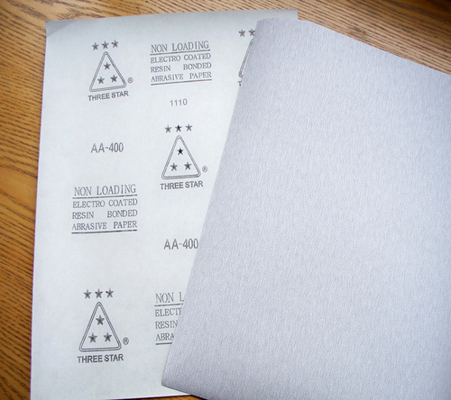 Premium Zinc Stearate Sand Paper