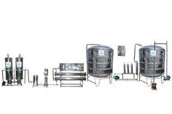 Packaged Drinking Mineral And Natural Water Plant