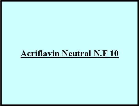 Acriflavin Neutral