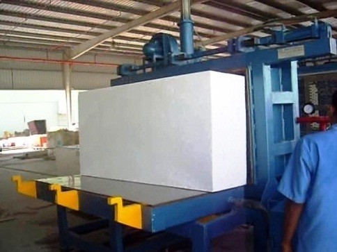 Hydraulic Operated Eps Block Moulding Machine