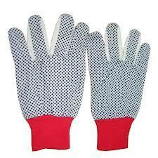 Dotted Gloves 8oz Cotton And Poly