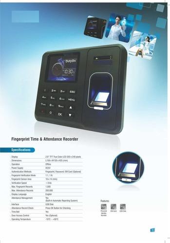 Time Attendance Access Control Machine