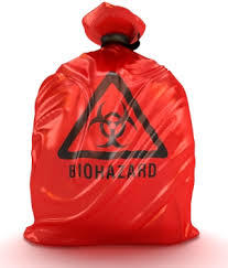 Bio Hazard Waste Collection Bag