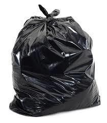 Black Color Garbage Bags