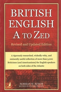 Book on British English A to Zed