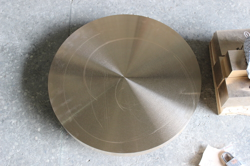 Beryllium Copper Metal Big Size Round Plates (C17200)