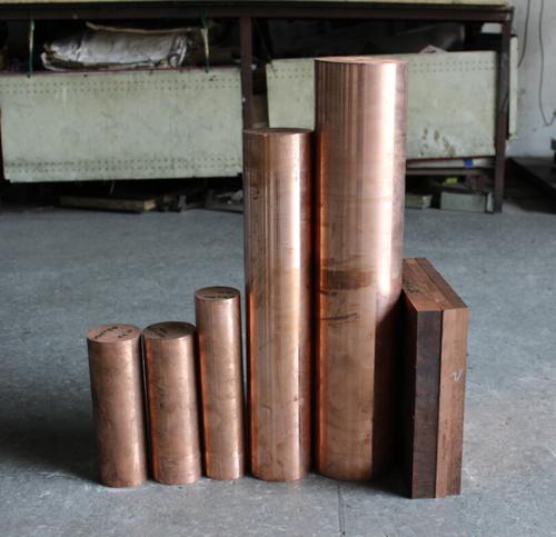 Chromium Zirconium Copper Metal C18150 Rod / Bar