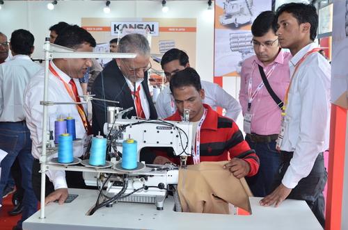 Leather Garment And Shoe Making Machinery Exhibition Solution