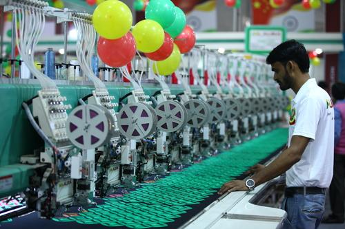 Non Woven Bag Making Machine Exhibition Solution