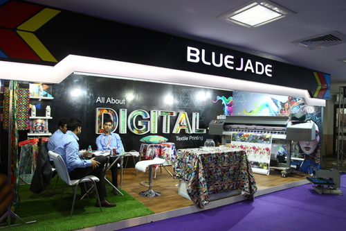 Textile Printing Machine Exhibition Solution