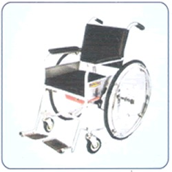 Deluxe Non Folding Invalid Wheel Chair