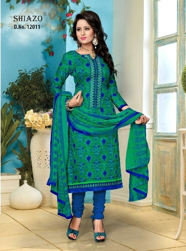 Sameera 12 Cotton Embroidery Suits