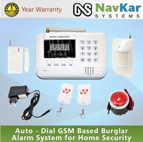 AutoDailHome Security Wireless Burglar Alarm System With GSM & 8 door Sensor+1PIR