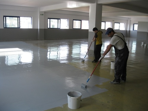 Self Leveling Epoxy Flooring Services
